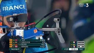 JO 2018 : Biathlon - Relais Hommes. Martin Fourcade craque également au tir