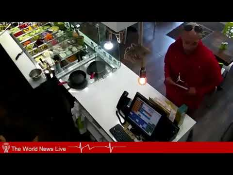 The World News Live | Cafe customer is caught on camera stealing | Warning ! | OMG ! | Watch ! |