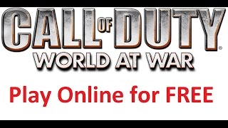 [Tutorial] [EASY] Call of Duty World at War Download for FREE (German) NO SURVEYS / PASSWORDS