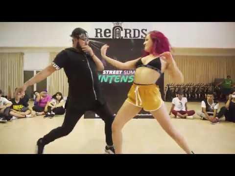 Wisin - Escapate Conmigo Ft Ozuna - Choreography By Adrian Rivera & Daniela Brito