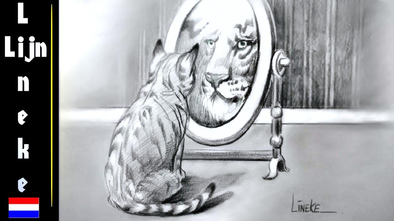 Hoe Teken Je Eenvoudig De Kat Met Ambitie Kitten Voor