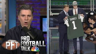 Which NFL team improved the most in the draft? I Pro Football Talk I NBC Sports