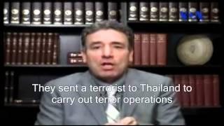 """A terrorist on a different mission!"" Hasan Daei on Tafsir-e Khabar (English subs) May 25, 2012"