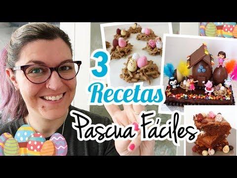 3 RECETAS FACILES DE PASCUA | Mona de Pascua de Última Hora