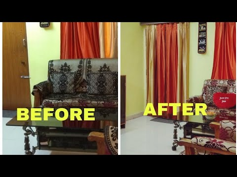 Small Budget Living Room Makeover Indian Home Decore Ideas