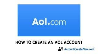 How To Create a New AOL Account - 2017