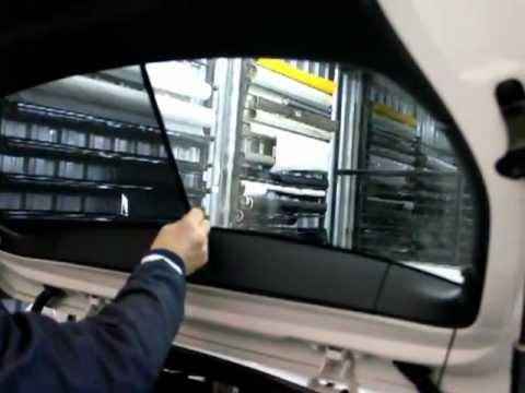 BOD PERDE BMW F20 ARKA CAM PERDESİ MONTAJ VİDEOSU