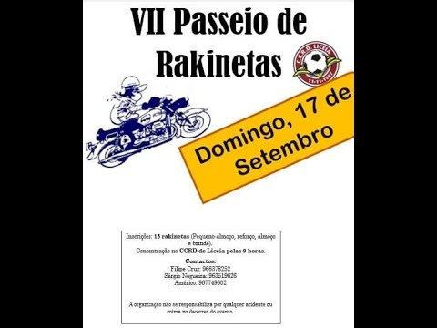 VII Passeio TT - Rakinetas CCRD Liceia 19-09-2017 (1/6)
