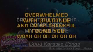 Thank God I Found You -  Mariah Carey (Lyrics Karaoke) [ goodkaraokesongs.com ]