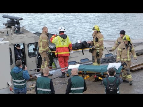 HAZARD project 2017: Oil leak and mass casualty incident exercise