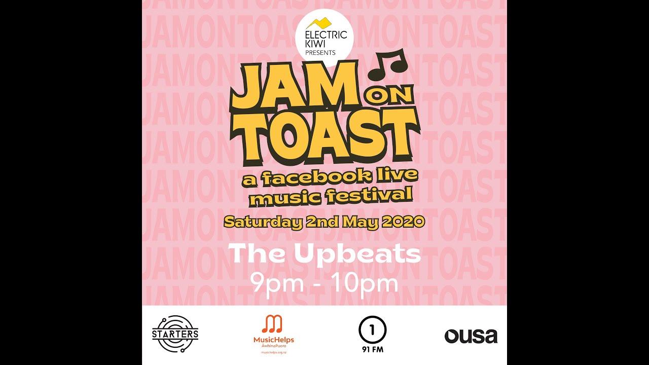Jam on Toast' online music fest - raising awareness for 'MUSICHELPS