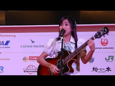 JKT48 Acoustic - Mirai'e (Kiroro) At Kota Kasablanka