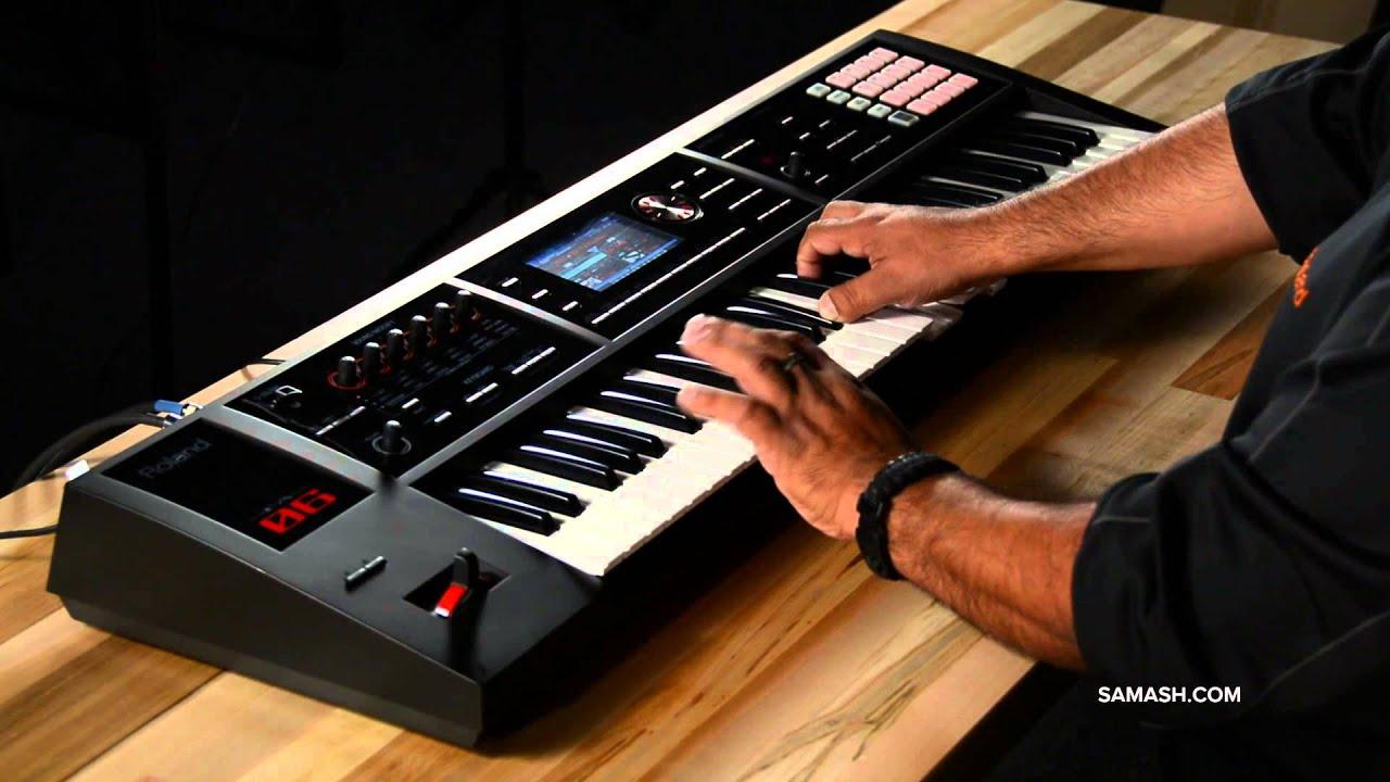 Roland FA-06 Music Workstation | SamAsh