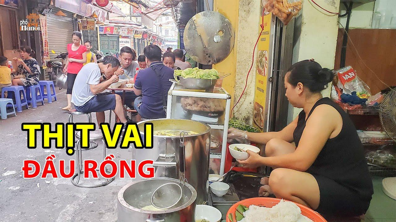 Bún Mọc Bà Cụ phố cổ Tạ Hiện nghe tên đã biết là ngon ở Hà Nội #hnp