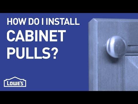 How Do I Install Cabinet Pulls? | DIY Basics