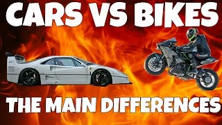 Cars VS Bikes The Main Differences