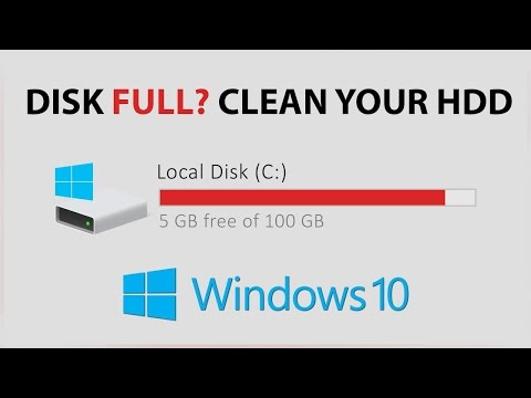 Clean Out, and Free Space on Your Hard Drive [ Windows 10 ]
