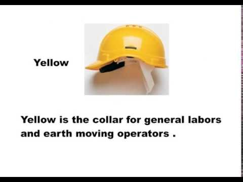 Hard Hat Color Code And Type You Need To Know Before Wearing It