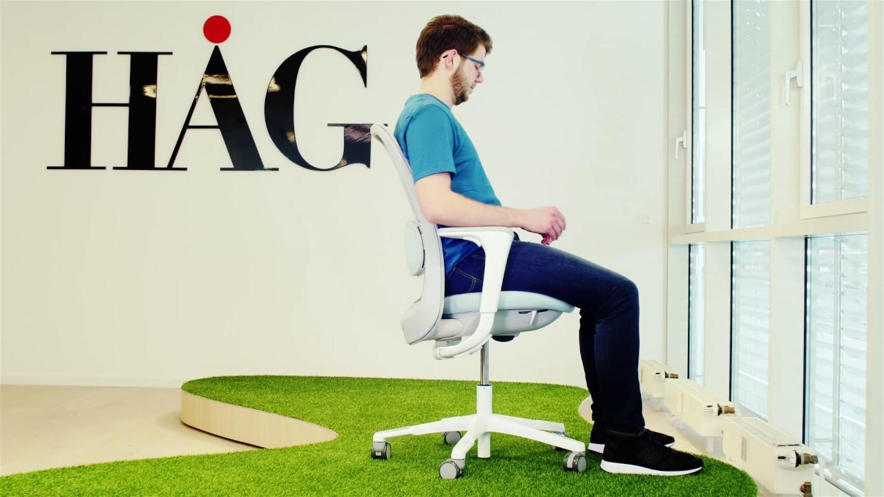 Hag stuhl. excellent hag h stuhl brostuhl ergonomisch drehstuhl in
