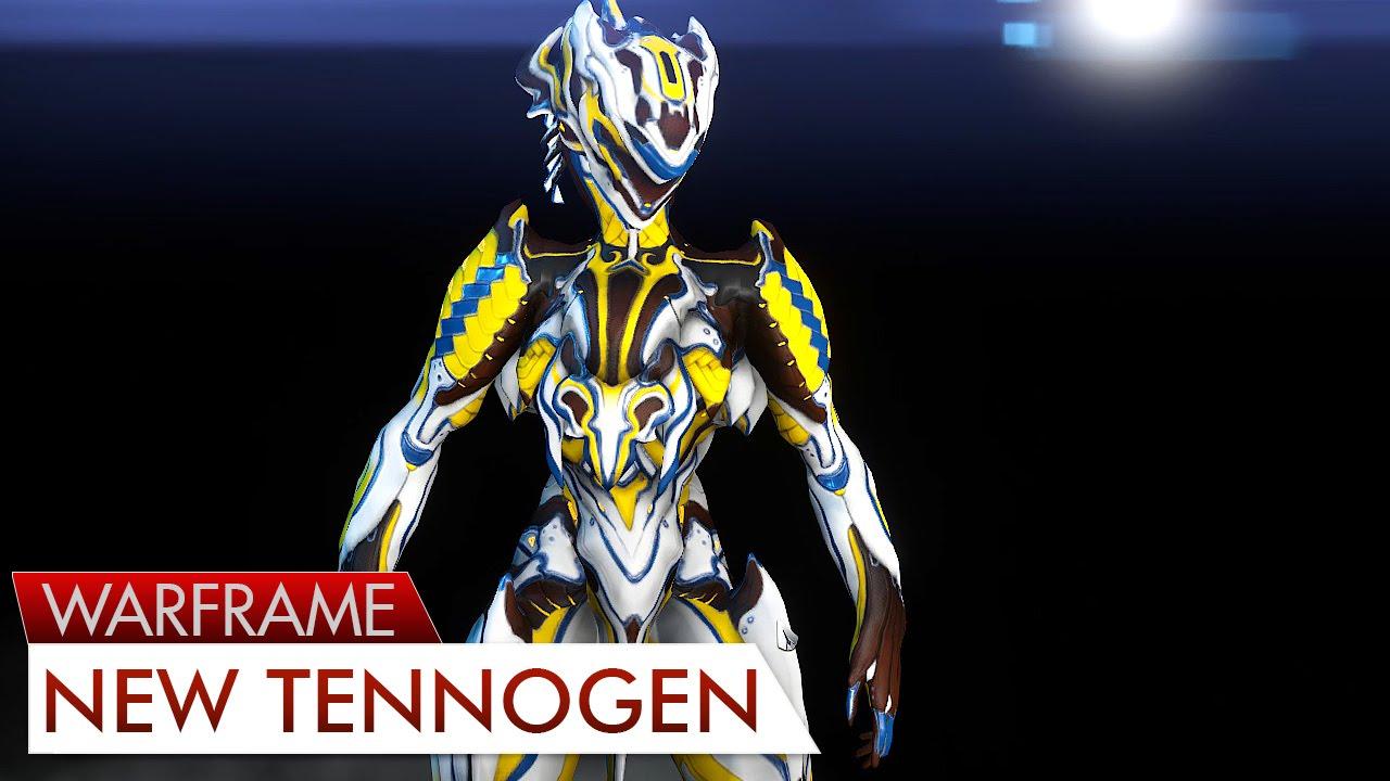 Warframe: FashionFrame - Tennogen (New Wave) - YouTube