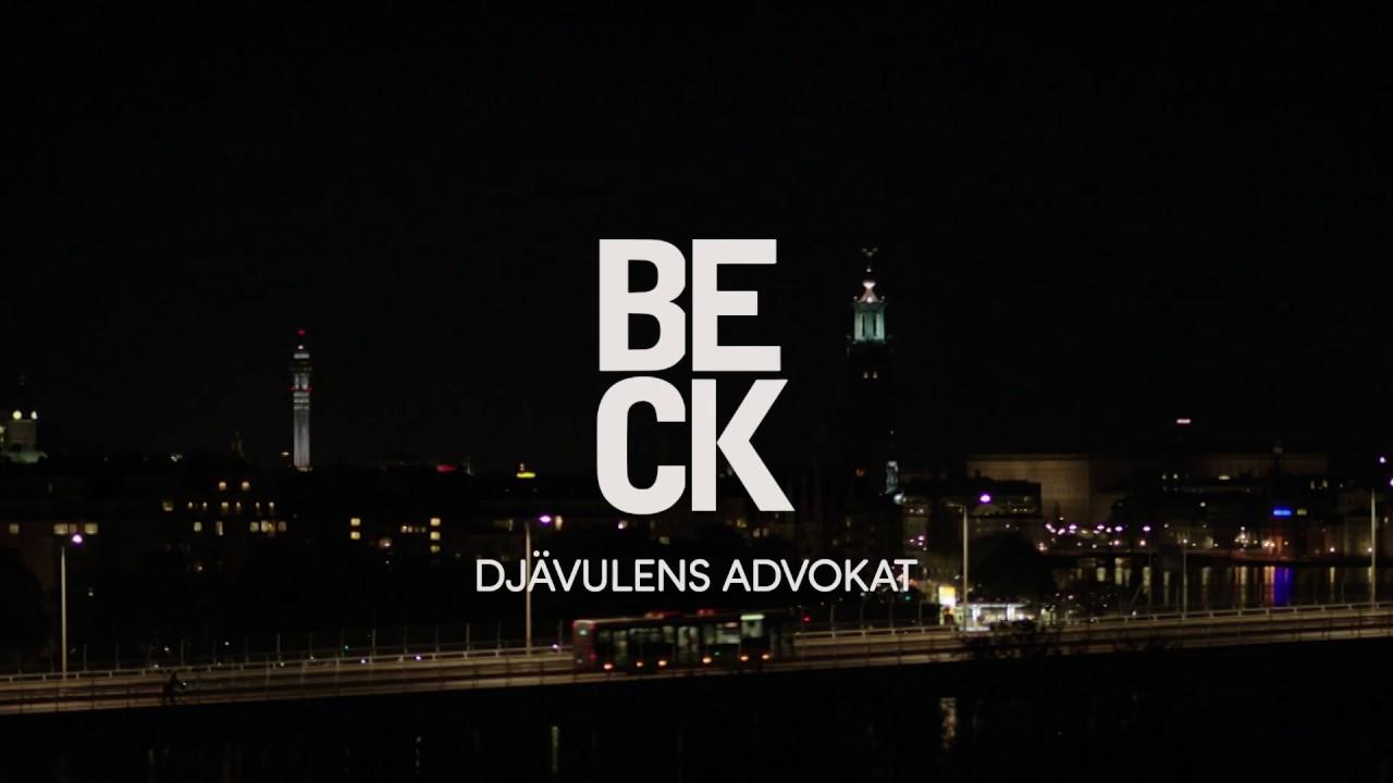 Beck - Djävulens advokat, officiell trailer