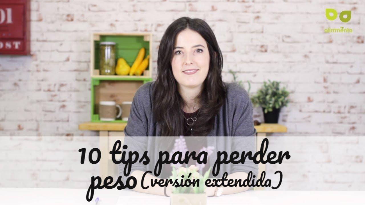 tips para bajar de peso youtube