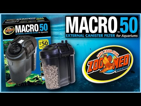 Zoo Med Macro™ 50 External Canister Filter