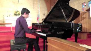 2013 LIPC 2nd Place Level 8, Bach Prelude & Fugue No 2