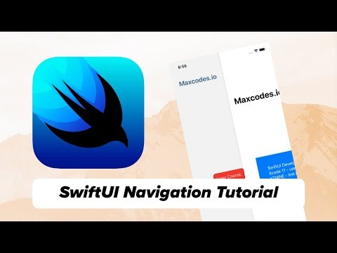 SwiftUI Navigation Tutorial (2019) - NavigationView and NavigationButton - Push View in SwiftUI thumbnail