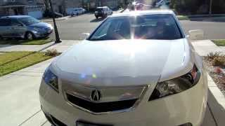 Video Tour of 2014 Acura TL Tech in Bellanova White Pearl