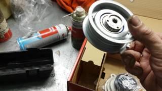 VW Caddy Bse Bsf Bfq 2 часть как заменить свечи, ГРМ, сброс сервисного интервала, ТО