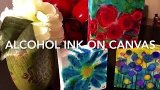 Alcohol Ink How to Painting Gretchen Smith