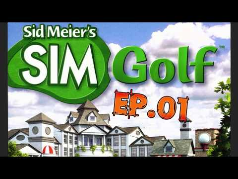 Sim Golf Ep.01 (Making the Ultimate Links Course)