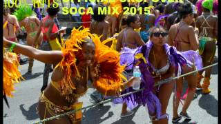 Crop Over Soca Mix 2015 100% HITS!!!