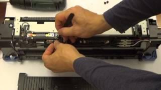 HP CP6015 CM6030 CM6040 Reset Fuse Installation for Fuser  Retail Version Fuser