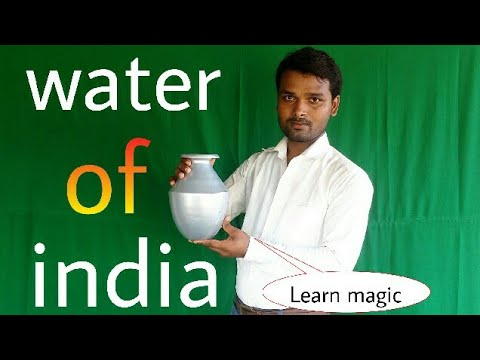 Learn magic trick Water of india by shivendar kumar