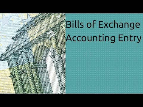 Accounting Entry Bills of Exchange | Accounting | CA CPT | CS & CMA | Class11 | Class12