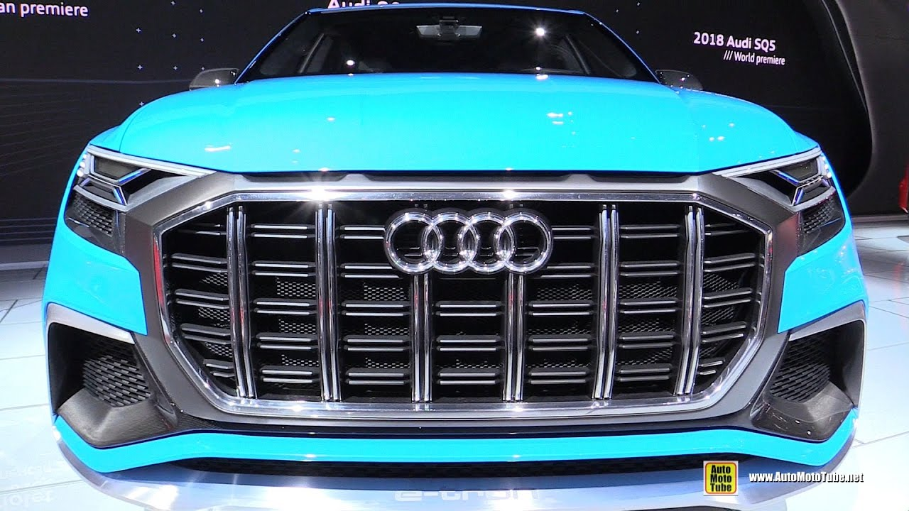 audi q8 concept exterior and interior walkaround 2017. Black Bedroom Furniture Sets. Home Design Ideas