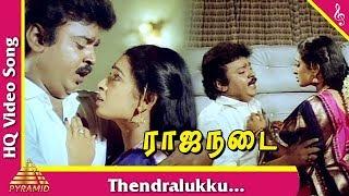 Thendralukku Video Song |Raja Nadai Tamil Movie Songs | Vijayakanth| Seetha| Gowthami| Pyramid Music