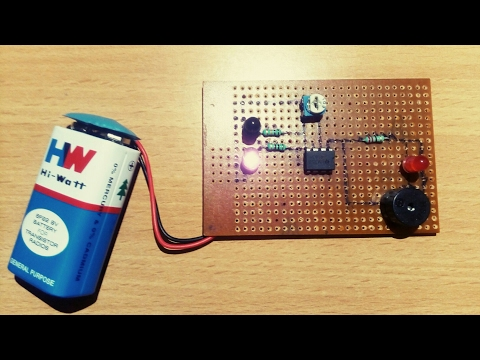 How to make an IR proximity sensor| for just Rs 50