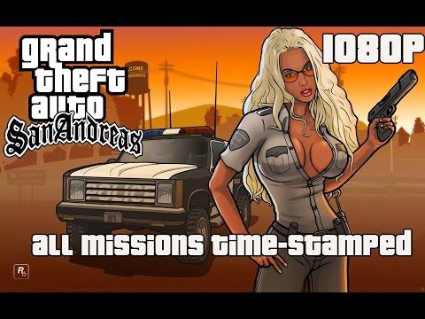 GTA: San Andreas - Full Game Walkthrough 【NO Commentary】 【Full HD】