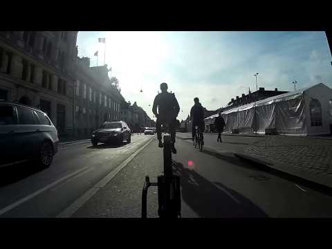 Copenhagen Cycling: Summer Morning Rush Hour