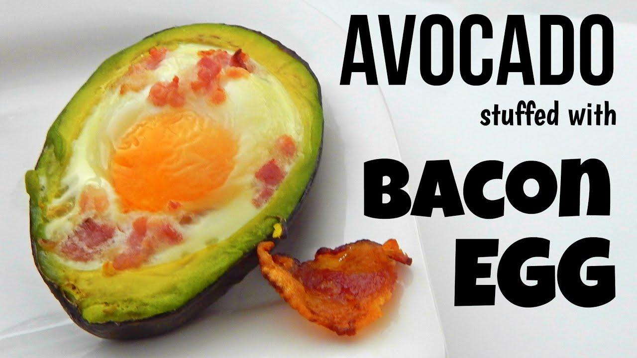How To Make Egg Stuffed Avocado (simple Home Recipe, Breakfast Recipe)   Inspire To Cook