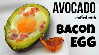How To Make Egg Stuffed Avocado (simple Home Recipe, Breakfast Recipe) - Inspire To Cook