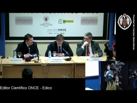 Presentación del editor científico ONCE - Edico