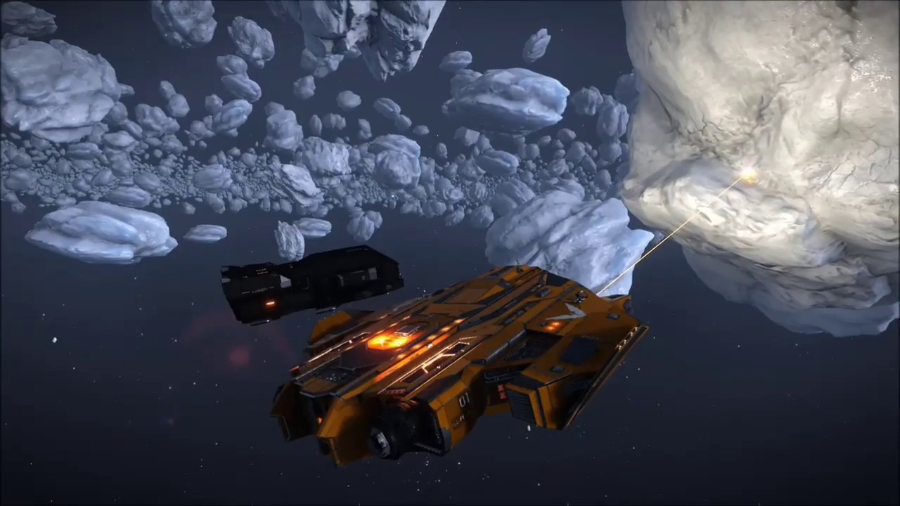 Helping Ice Mine - Elite: Dangerous