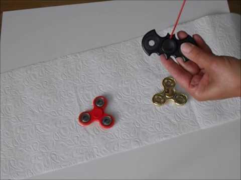 wie man einen fidget spinner schneller machen l nger und. Black Bedroom Furniture Sets. Home Design Ideas
