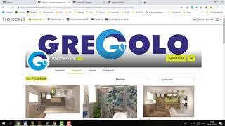 Tilelook profil beállítása, márkák, termékek és projektek kezelése