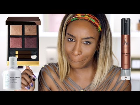 Trying NEW Makeup! First Impressions and More | Jackie Aina