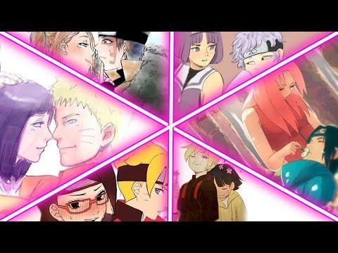 「AMV」~ Знаешь, мама, он - моя линия ... 『Naruto - Boruto』
